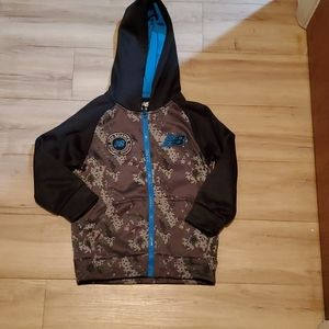 Boys New Balance size zip up hooded sweater